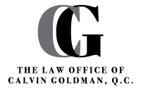Calvin Goldman Law Logo